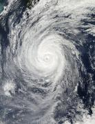 Typhoon Francisco approaching Japan, October 22, 2013. Credit: NASA